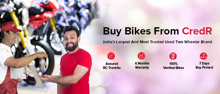 Second hand bikes & scooters in India at Best Prices|Credr